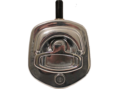 Compression D Ring Handle Lock Chrome