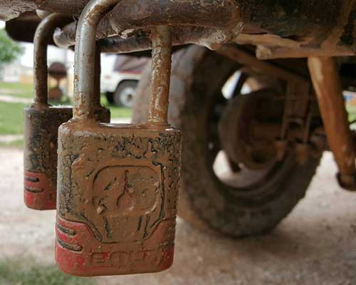 Heavy Duty Padlock
