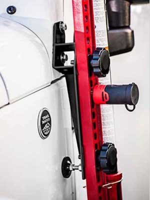Jeep Wrangler A Pillar Jack Mount